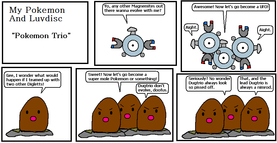 Dugtrio Evolution Comic 12 - pokemon trio